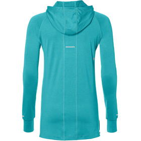 asics Thermopolis LS Hoodie Women Lake Blue Heather